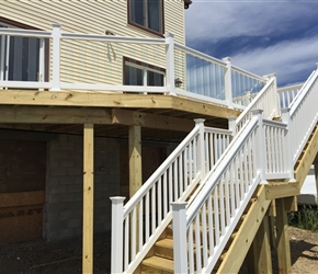JOB:JOHN BAYVILLE DECK